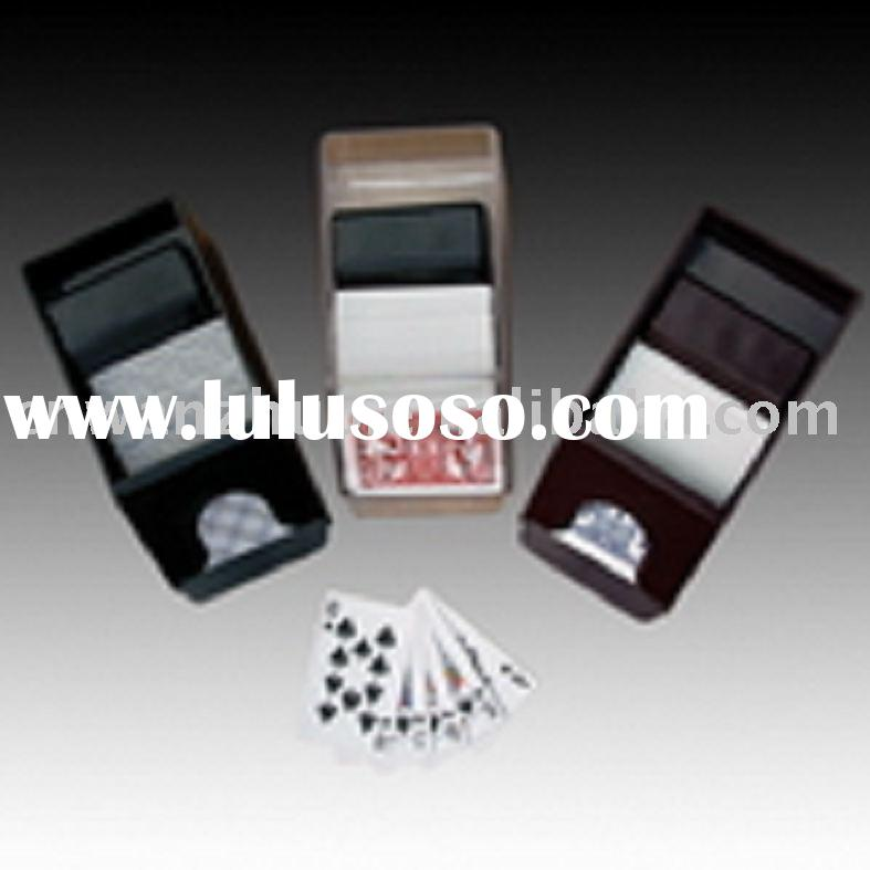 CARD SHOE,POKER CHIP SET,PLAYING CARDS,AUTOMATIC CARD SHUFFLE,GAMBLING MAT,FANCY GIFTS & GAMES,P