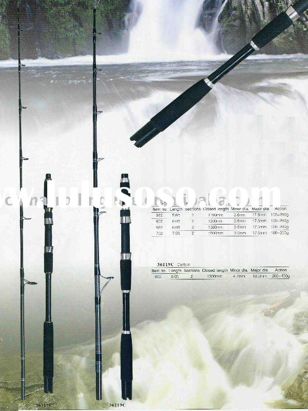Carbon Fiber Boat Rods,Sea Fishing Rods,Big game fishing rods,36117C Series