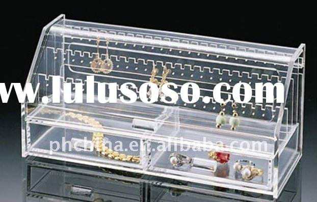 Clear Acrylic Jewelry Case / Box / Chest Display