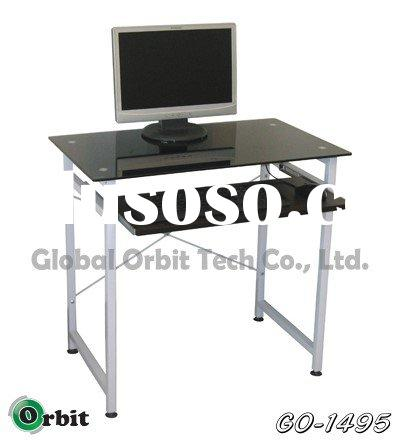 Computer desk / table, office furniture, glass home furniture