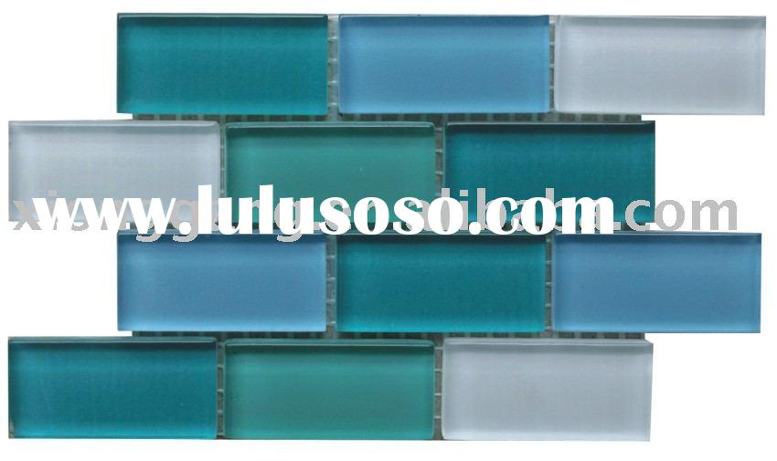 Crystal Glass Mosaic Tile,Wall Tile,Swimming Pool Tile