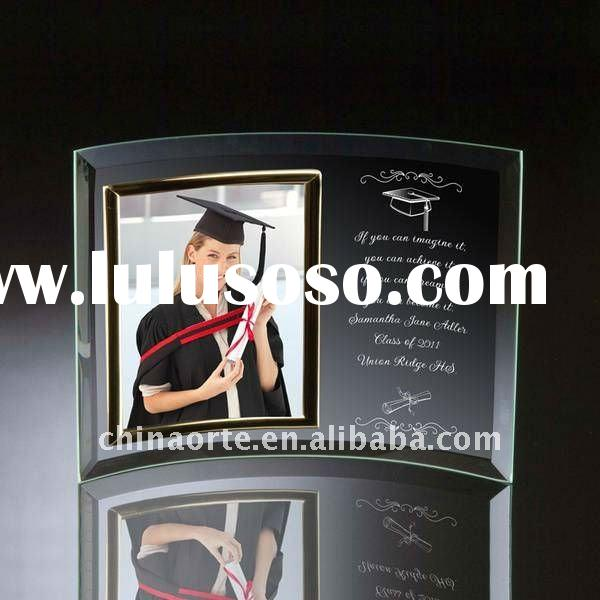 Crystal Graduation Photo Frame for Students Gift