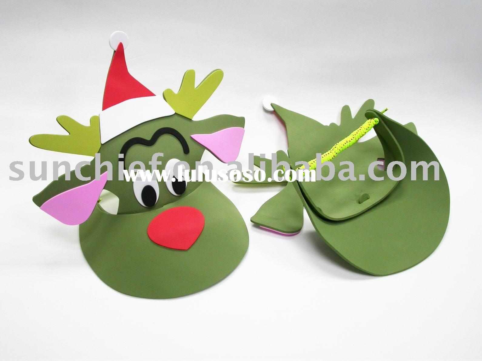 DIY EVA FOAM CRAFT,DIY FOAM ANIMAL VISOR, DIY CRAFT KIT,EVA FOAM CRAFT,EVA HANDICRAFT,PROMOTIONAL GI