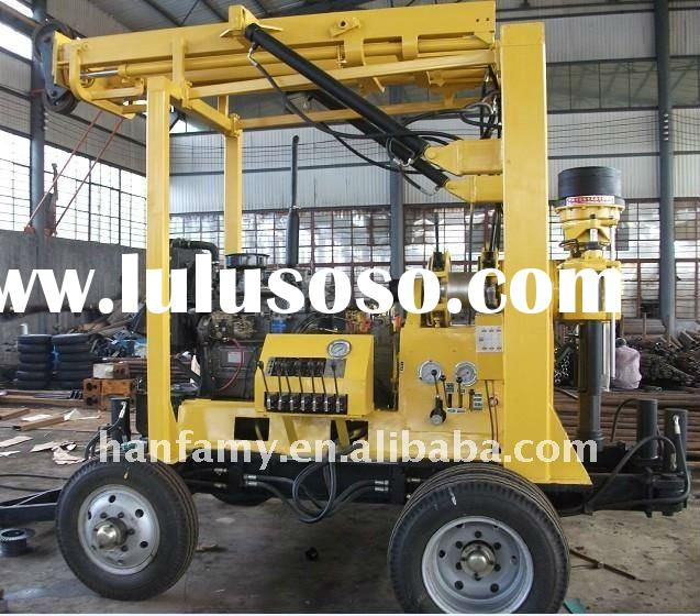 Diesel Engine and Electric Motor Alternative! HF-3 Trailer Mounted Hydraulic Rock Drilling Equipment