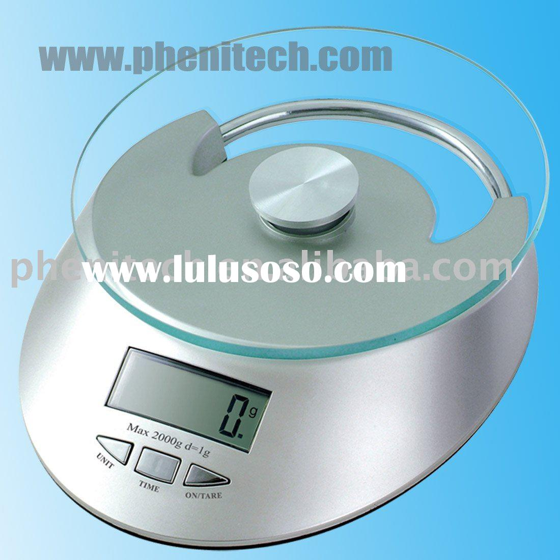 Digital Kitchen Scale/electronic foot fruit scale KS-801