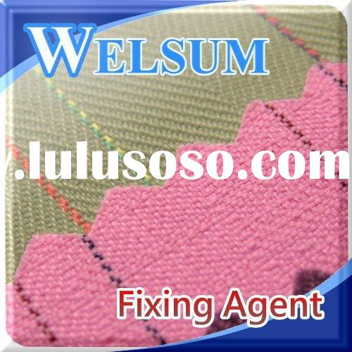 Dyeing fixer, Fixing agent for Nylon, Wool & Silk fiber with acid dyes.