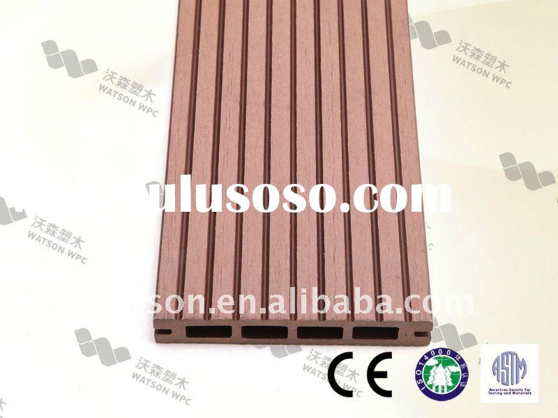 ECO-FRIENDLY MATERIAL FLOOR, WATSON WOOD PLASTIC SOLID DECKING
