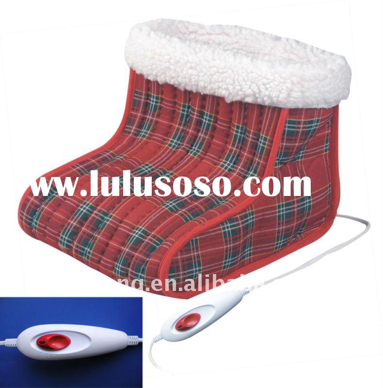 Electric foot warmer boots with massage JT-M101