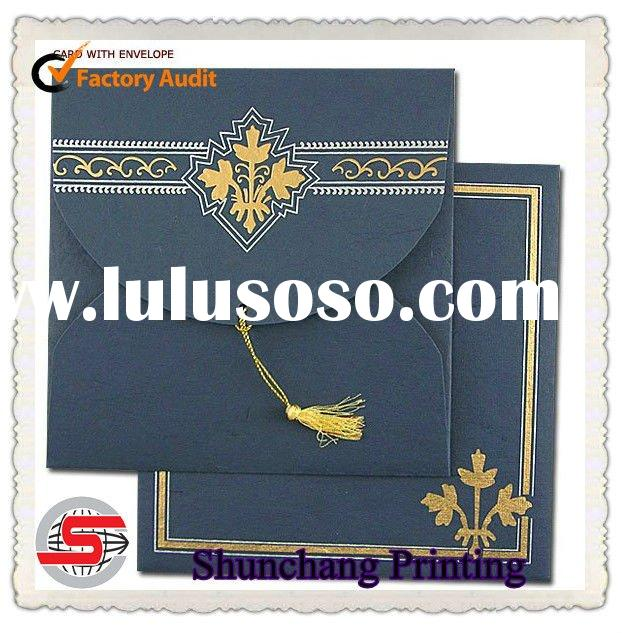 Elegant envelope invitation card printing