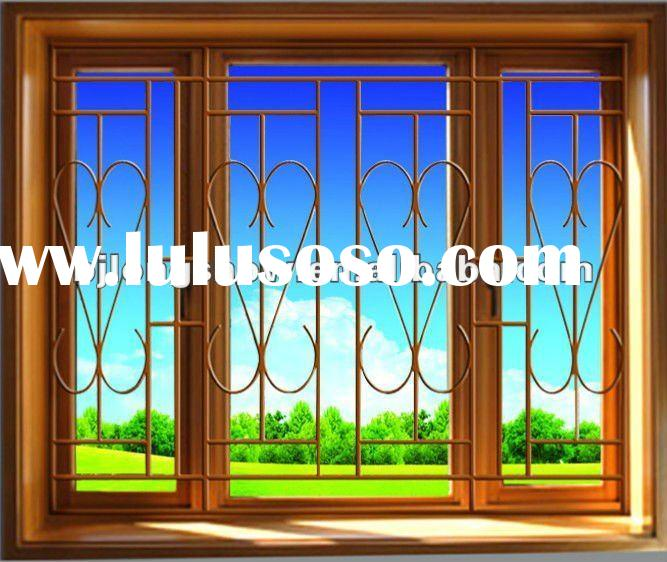 Window grille design window grille design manufacturers for Fancy window design