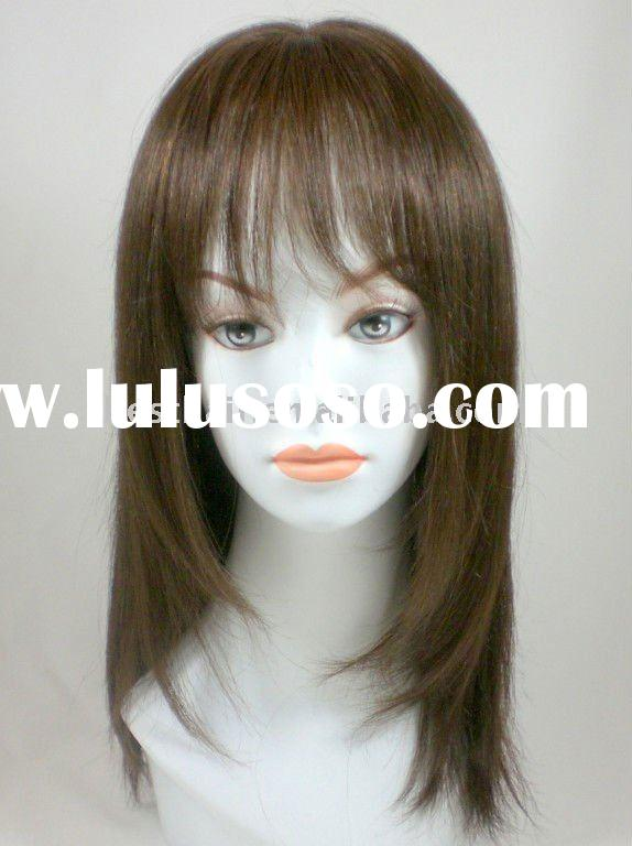 Favouriate 100% human hair lace front wigs