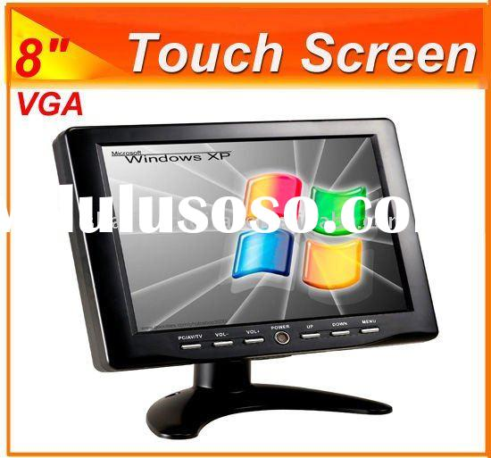 Four wires resistive interface Touch screen LCD Monitor