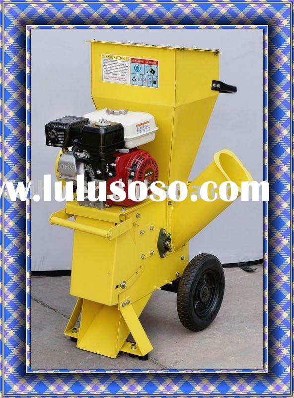 Gasoline leaves and wood shredder chipper 5.5HP