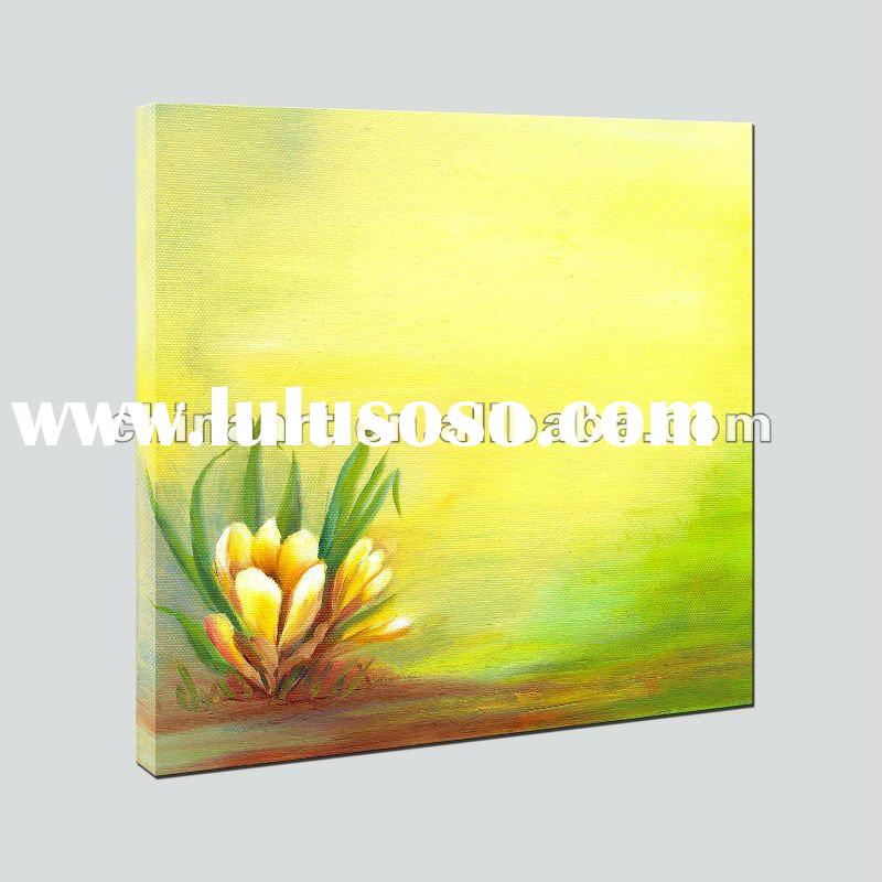 Giclee Print Canvas Flower Oil Painting