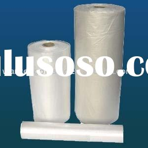 HDPE CLEAR plastic bag on roll for food