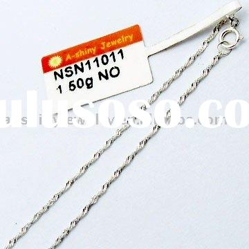 High Quality 925 Sterling Silver Chains