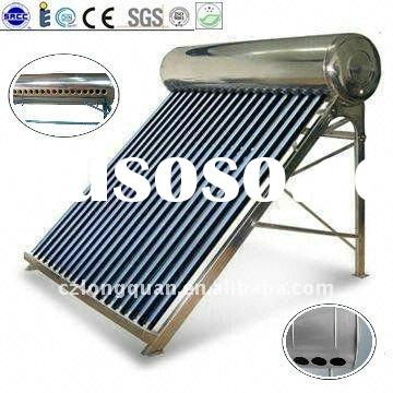Homemade Stainless Steel Non Pressure Solar Water Heater