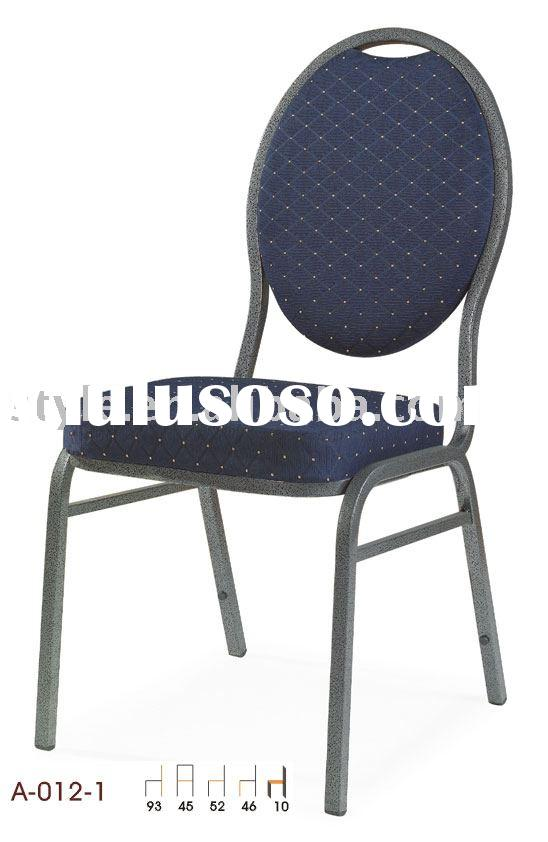 Hotel Banquet Chair (A-012) Hot Sale Steel Stack Chair