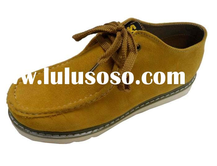 Latest men's leather safety shoes