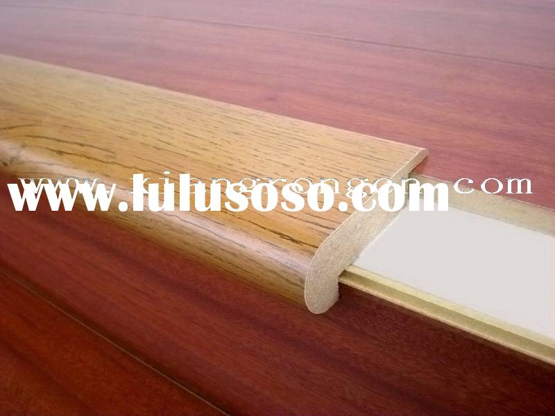MDF Laminate flooring accessory -- stair nose