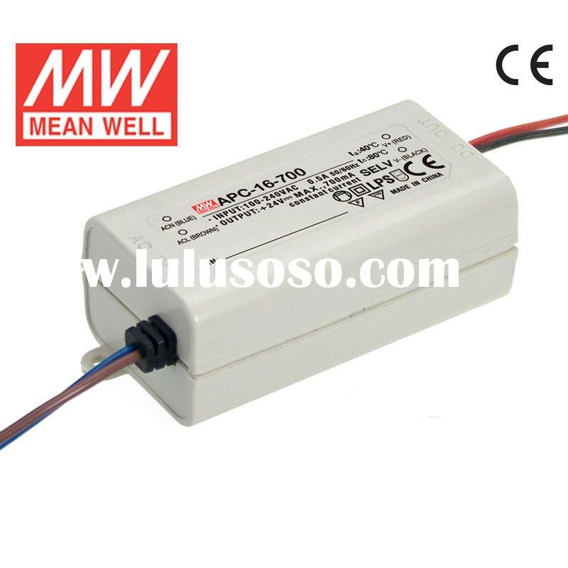 Mean well 16v 700mA Constant Current LED Driver/AC-DC Power Supply APC-16-700