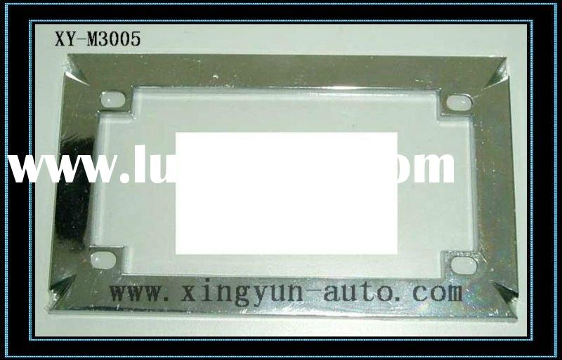Motorcycle license plate frame,zinc alloy material