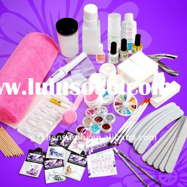 Nail Art Full Set 27 In 1 UV Gel Manicure kit NA468