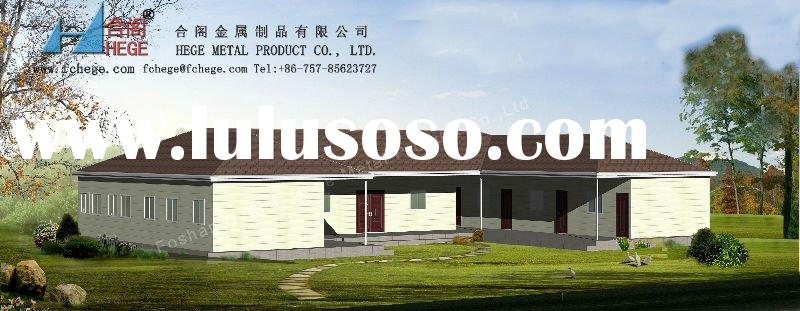 New design practical prefab house,prefabricated villa, portable vacation home for family