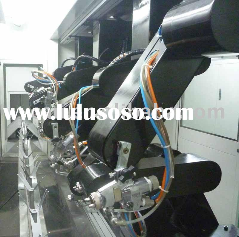 Paint robot controlling system, coating line equipment, automatic spray machine