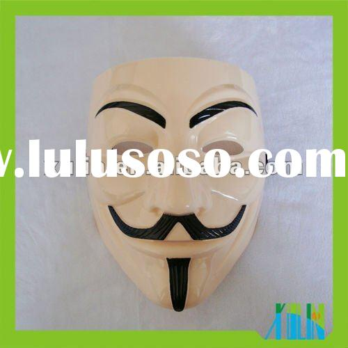 Pink V for Vendetta Mask For Sale/Anonymous mask/Hot Sale
