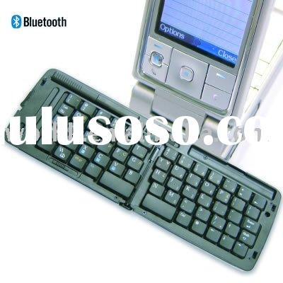 Portable Wireless Link Foldable Bluetooth Keyboard for PC Laptop Mobile Cell Phone