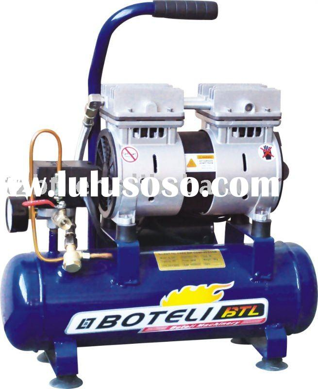 Silent and oil free air compressor