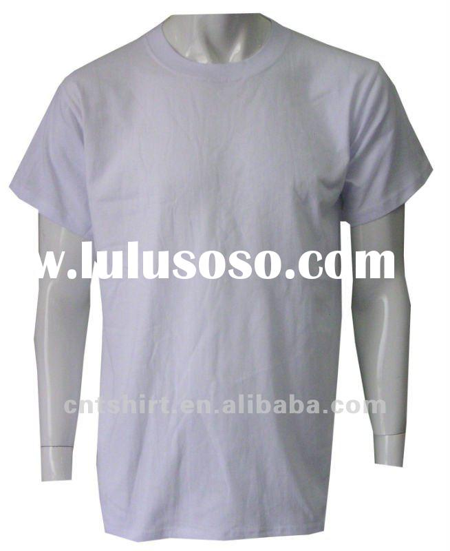 Summer cheap cotton wholesale blank t shirts best price
