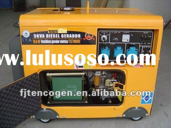 TencoGen 10HP Diesel Generator Price List (Hot Sales)
