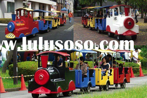 Trackless train for children