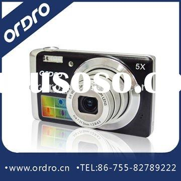"""Ultra Thin Digital Camera with 3.0""""Touch Panel, 14.0 MP CCD Camera, Li-ion Battery"""