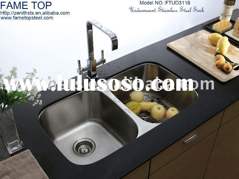 Undermount Stainless Steel Kitchen Sink FTUD3118