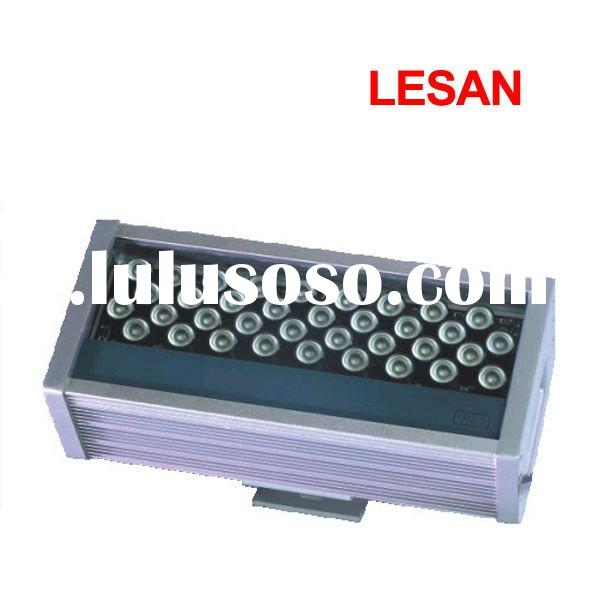 Unique design IP65 216W high power super bright architectural led wall washer