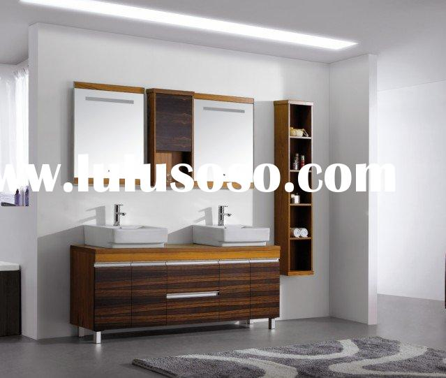 VAMA / Double Mirrors and Sinks Bathroom Vanity /V-15090
