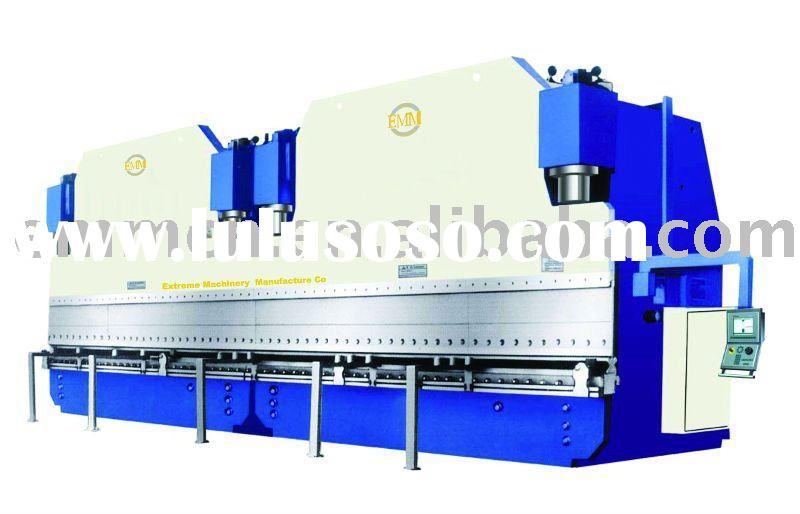 WE67K-500/5000 Hydraulic Press brake/plate bending machine