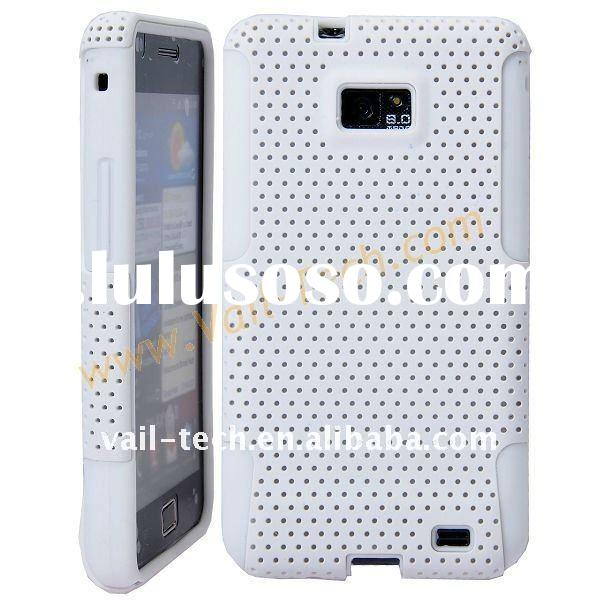 White Detachable Double Plastic Hard Case Cover For Samsung Galaxy S2 i9100