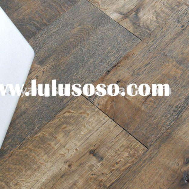 White Oak Handscraped Wood Flooring