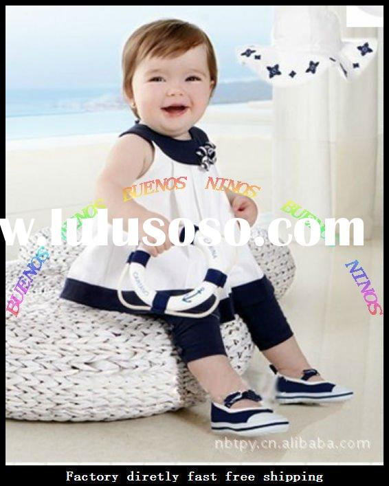 Wholesale - 2012 New Fashion Cotton Baby Sets Products Baby Clothes Set infant Clothes Baby Wears Se