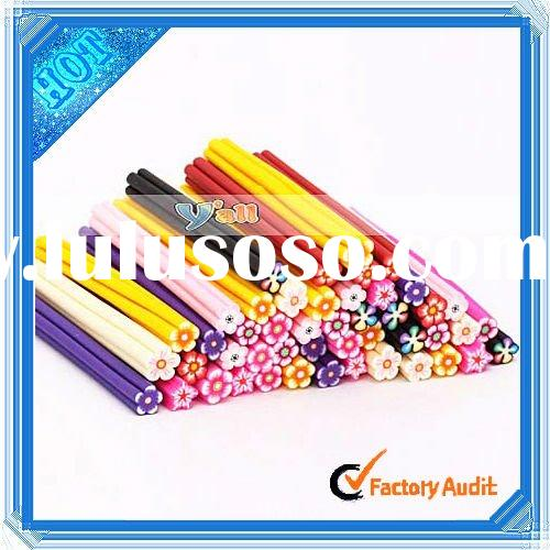 Wholesale 50pcs Flower Clay 3D Nail Art Supplies