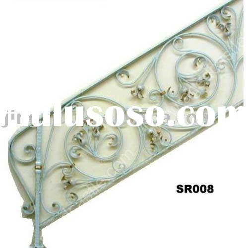 2012 china manufacturer factory hebei hand hammered wrought iron stair