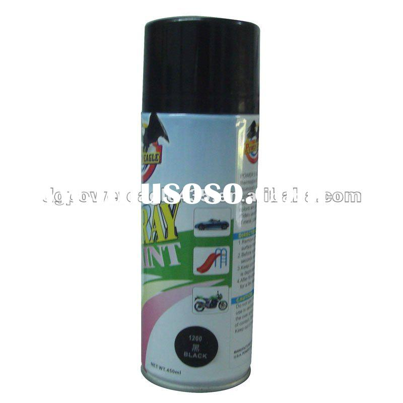 #1200 Black Color Spray Paint 450ml