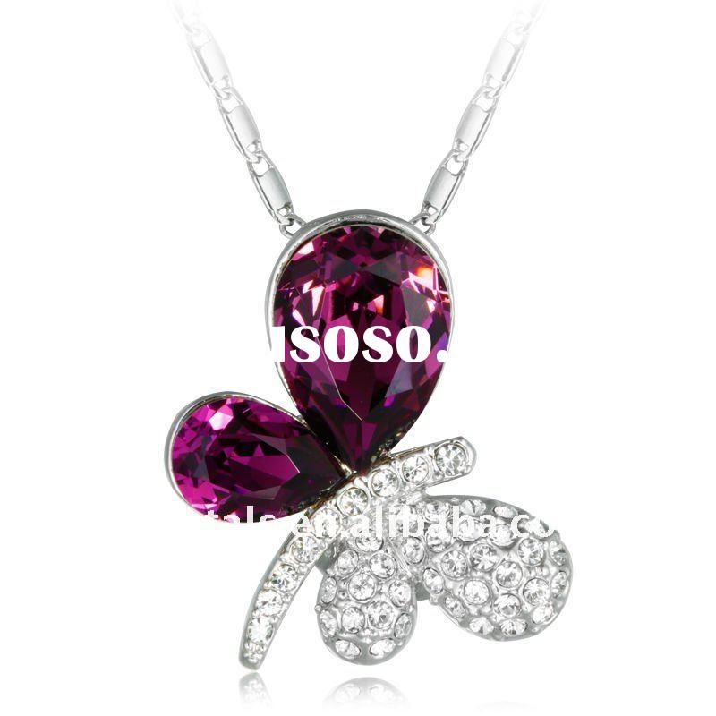 discount price for Austria crystal pendant necklace necklace jewelry