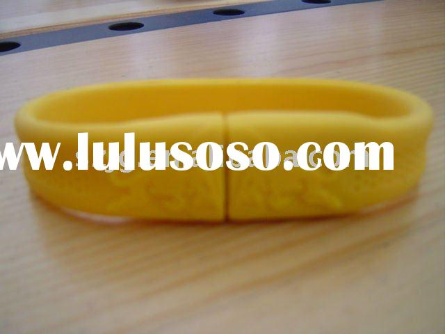 full capacity armband usb flash drive with logo printing