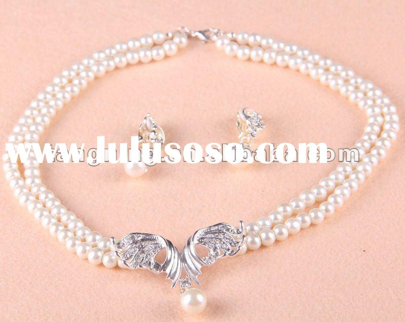 indian american diamond necklace set
