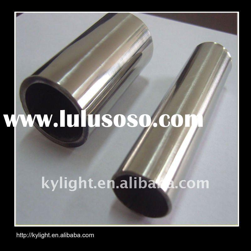 large diameter polished welded stainless steel clad pipes